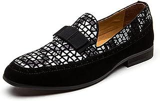 Parcclle 1009 Oxford Chaussures à lacets en cuir brillant pour garçon