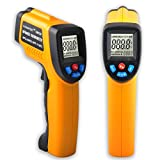 KASUNTEST Digital Infrared IR Thermometer Non-contact Instant Read Temperature Gun (-50°C to +380°C)