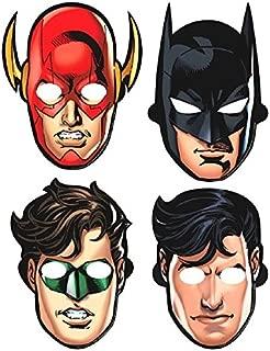 Justice League Paper Masks, Party Favor