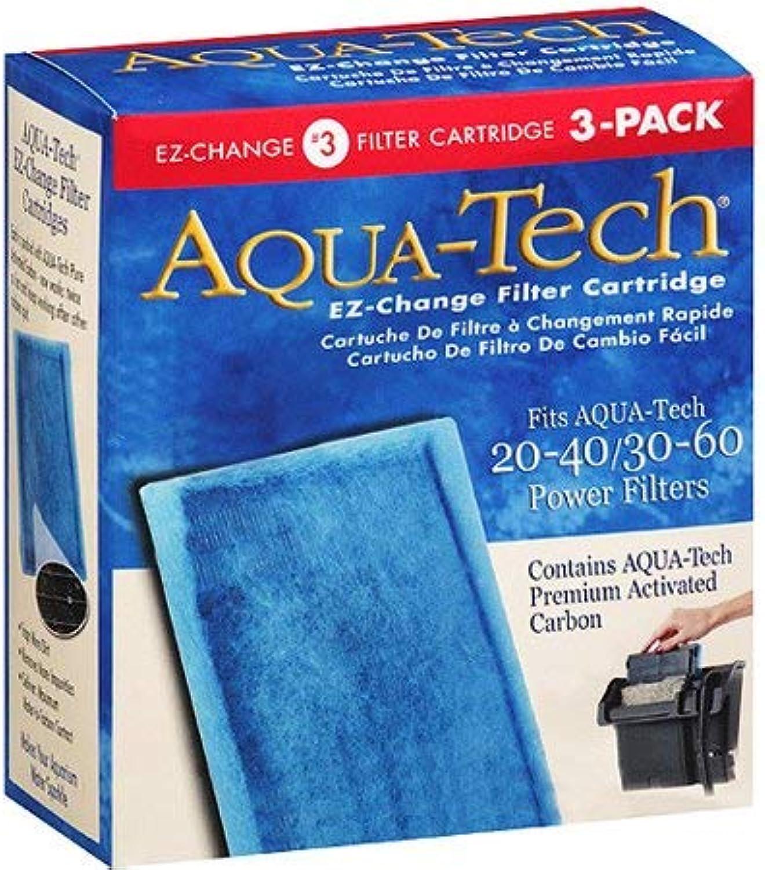AquaTech EZChange Filter Cartridges 3Pak for 2040 3060 Power Filters