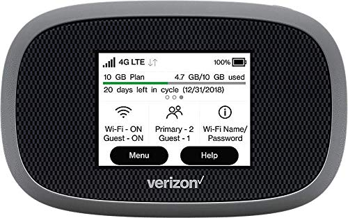 Verizon Wireless Jetpack 8800L 4G LTE Advanced Mobile Hotspot (No Sim Card Included) (Renewed)