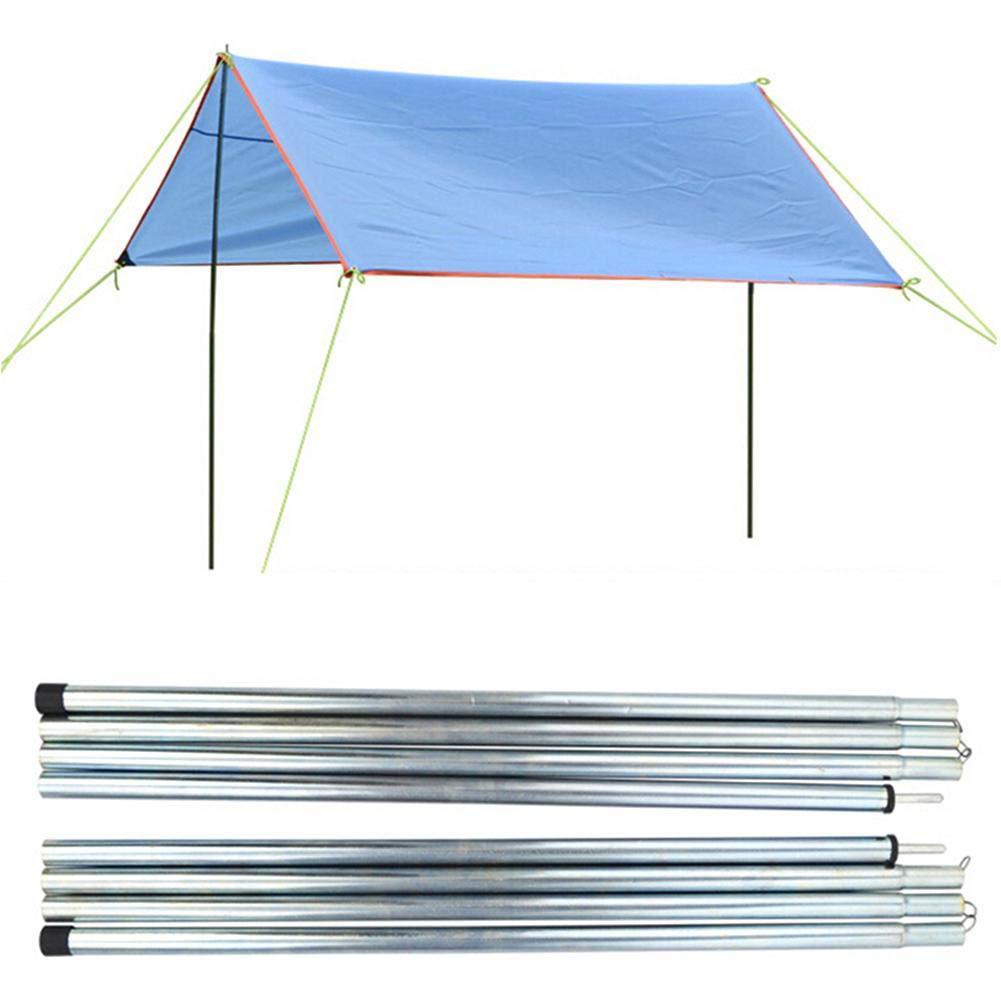 2PCS SinceY Told Poles Canopy Bracket Barra de Soporte para toldo al Aire Libre para Acampar