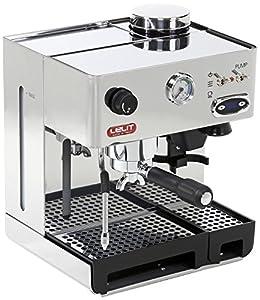 Espresso Siebträgermaschine mit integriertem Mahlwerk Lelit PL042TEMD