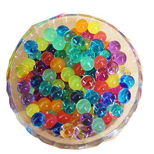 500g 12 verschiedene Farben Kristall-Schlamm-Wasser-Korn-Soilless Kultur Pflanze Kugel