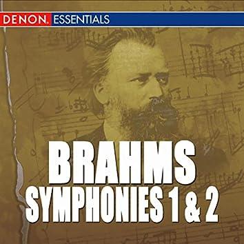 Brahms: Symphony Nos. 1 & 2