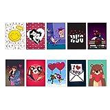 Best Valentine's Day Cards - YaYa Cafe Valentine Greeting Card for Girlfriend Boyfriend Review
