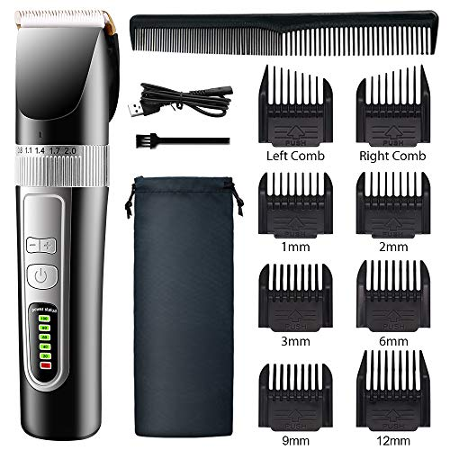 BLISSDAY Hair Clippers for Men Kids, Professional Cordless Hair Trimmer,...