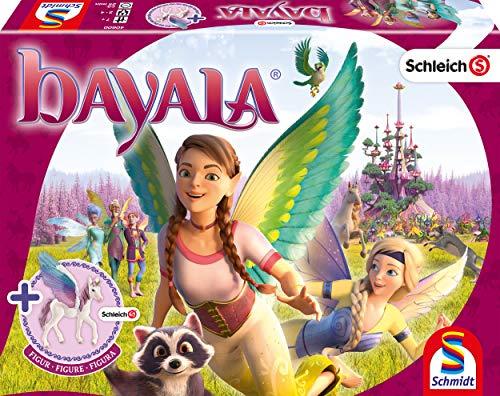 Schmidt Spiele 40600 Schleich-Bayala, Würfel und Laufspiel zum Kinofilm, inklusive Figur, bunt