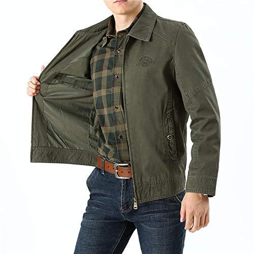 Men's Outdoor Jacket Winter Coat With Outdoor casual men's jacket-army green_M