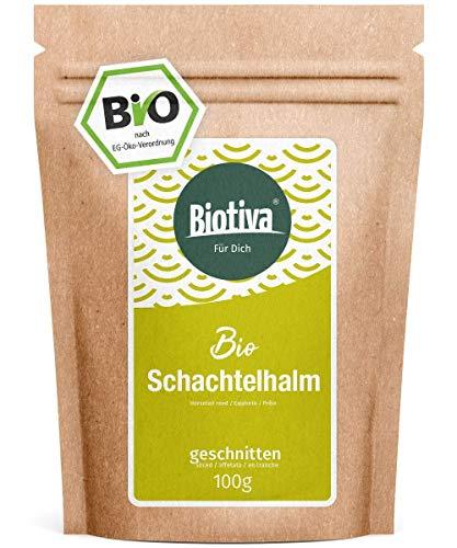 Prêle (Bio, 100 g) - prêle - la plus haute qualité de qualité - Tisane organique - peut aider les voies urinaires légères