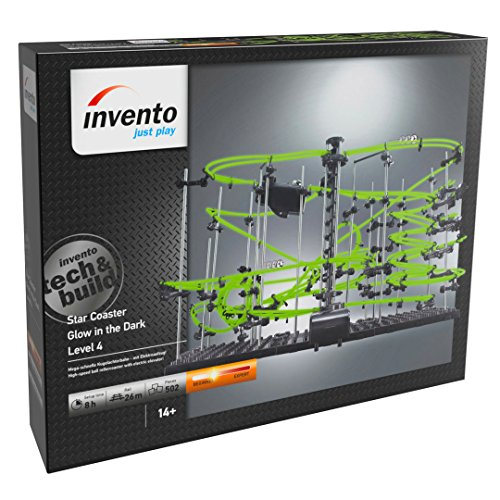 Invento just play 501931 Star Coaster : Construction Glow in The Dark Niveau 4, de Billes, Jouet