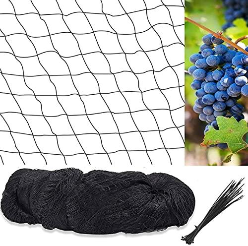 """Poultry Netting,Bird Netting for Garden,1""""Mesh Lightweight Nylon Garden Net,Protect Plants /Fruit Trees /Pond Netting (13Ft x 26Ft)"""