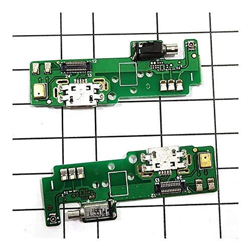 HDHUIXS Compatibilidad Puerto USB de Carga Junta Fit For Sony Xperia E5 USB Base de Carga del Puerto Flex Piezas de reparación del Cable Profesional