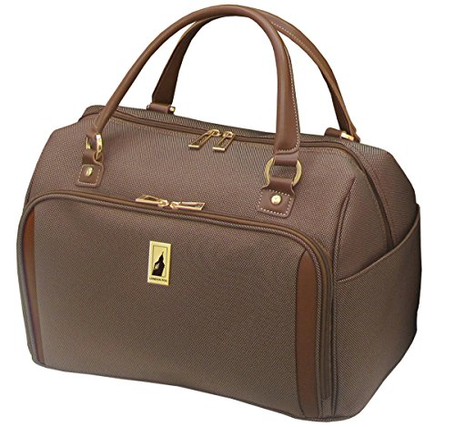 London Fog Kensington 17 Inch Deluxe Cabin Bag, Bronze, One Size