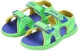 Cressi Grommet Sandalias Junior Mar/Playa, Unisex niños, Verde/Azul Royal/Amarillo, 35 EU