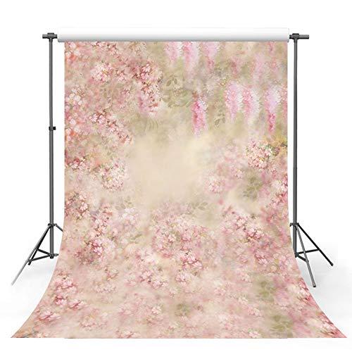 Mehofoto Fotostudio-Hintergrund aus Holz, Blumen, Kinderhintergründe für Fotografie