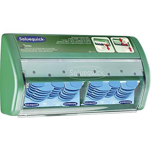 SALVEQUICK pleisterdispenser 2x 35 watervaste detecteerbare pleisters
