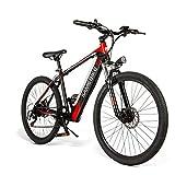 Bicicleta Eléctrica 250W 30km/h de 26 Pulgadas/Bicicleta de Montaña/e-Bike 36V 8AH Batería de Litio Shimano 7 Velocidades Frenos de Disco Certificación CE para Hombres Mujeres [EU Stock]