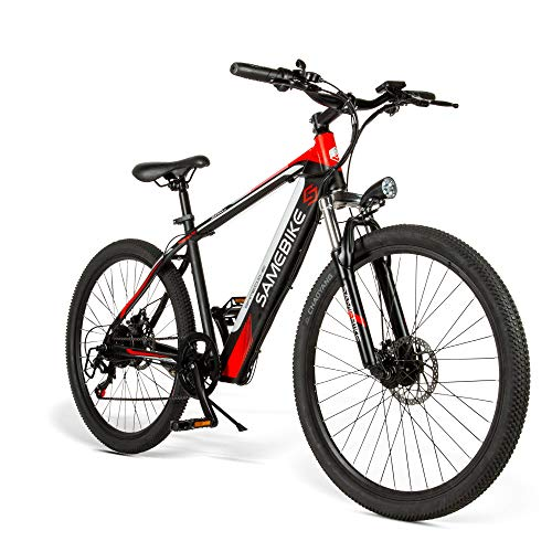 Mountain bike elettrica SAMEBIKE 26'8 Ah 36 V con motore da 250 W Velocità massima 30 km