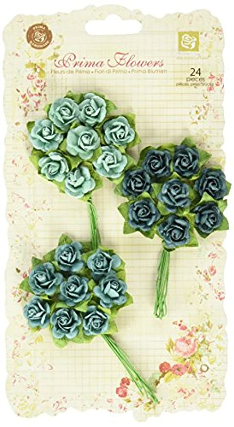 Prima 535490 Mini Rose Embellishment, Sand