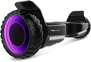 HYPER GOGO Hoverboard 6.5inch 3D Wormhole Hoverboards,UL2272 Certified Self Balancing electric scooter w/Bluetooth With Carry Bag