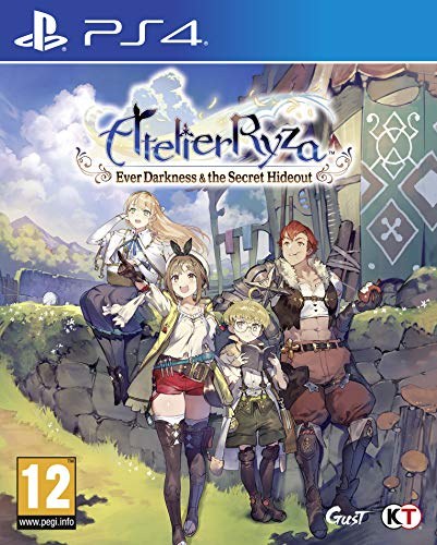 Atelier Ryza: Ever Darkness & the Secret Hideout - PlayStation 4 [Edizione: Regno Unito]