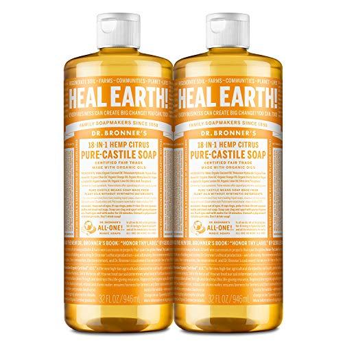 Dr. Bronner's – Pure-Castile Liquid Soap