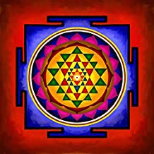 Art Factory Sri Yantra Canvas Painting Vedic Yantra 24