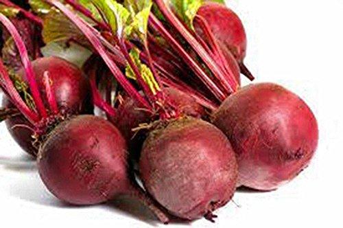 Betteraves, Detroit rouge foncé, Heirloom, 100 graines organiques, tendre et doux, Deep Red