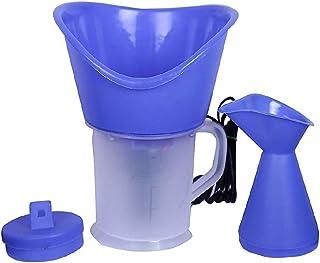 Clicktive E-Mart Facial Steamer/Vaporizer with 3 Attachments Facial Sauna Steamer, Nose Steamer, Nose Vaporiser, Nozzle Inhaler, Cough Steamer (Blue)