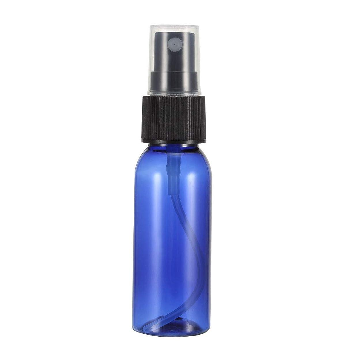 シェフアルファベットソーダ水uxcell uxcell プラスチックスプレーボトル ファインミストスプレー付き 空の詰め替え式コンテナ トラベルボトル 1oz/30ml ブルー 12個入り
