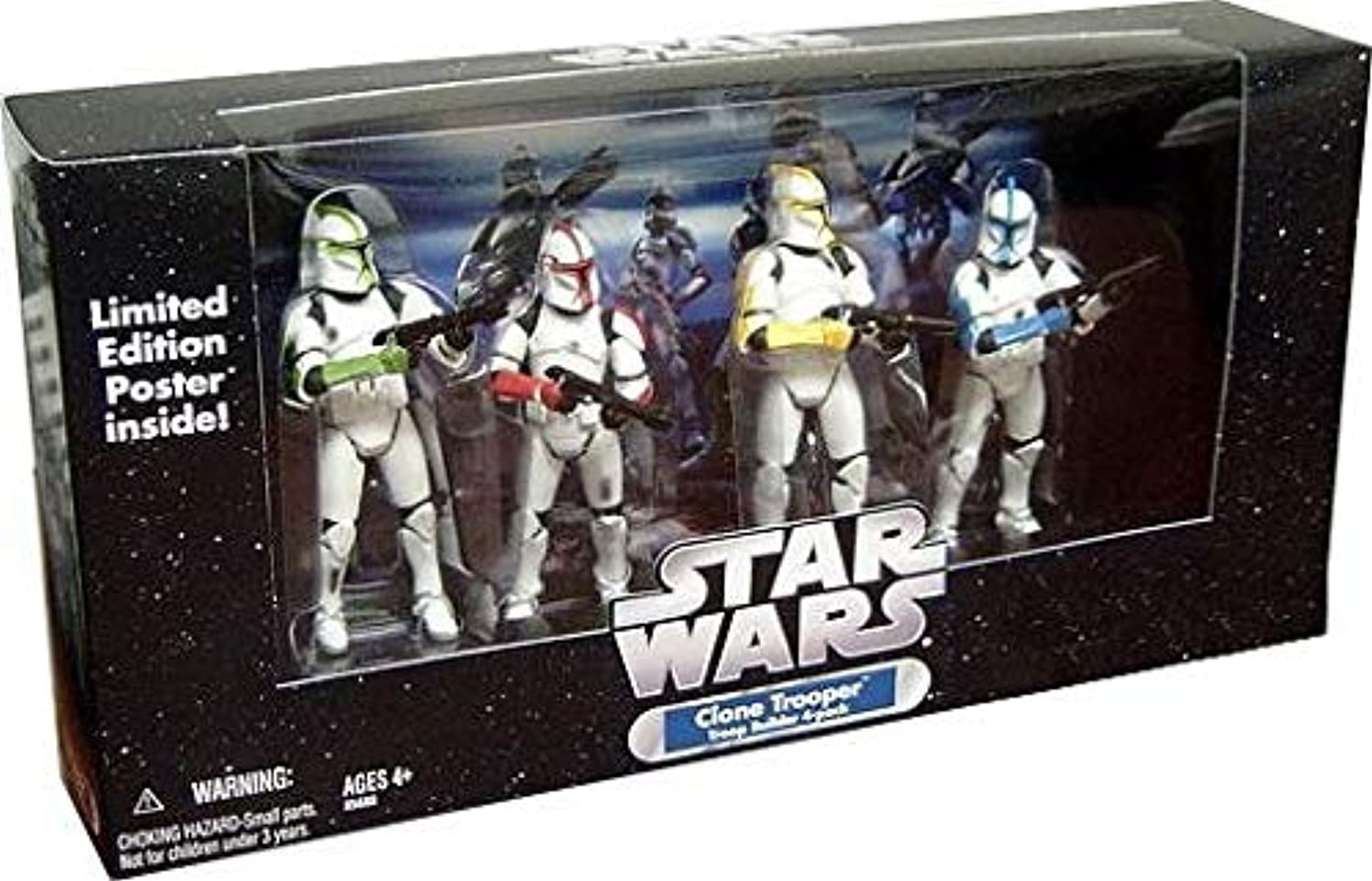 Collector Set  Clone Trooper Officer  4 Trooper  Attack of the Clones  - Star Wars The Original Trilogy Collection von Hasbro