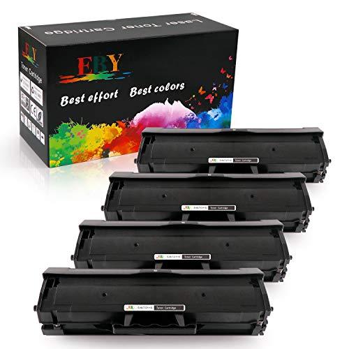 EBY compatibele Samsung 111S 111L MLT-D111S MLT-D111L zwarte tonercartridges Compatibel met Xpress sl-m2026w m2022 m2026 m2027w SL-M2020W Xpress SL-M2070W printer MLT-D111S-4 Zwart
