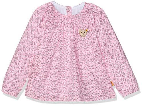 Steiff Baby-Mädchen 1/1 Arm Bluse, Rosa (Mehrfarbig 0003), (Herstellergröße: 50)