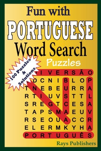 Fun with PORTUGUESE - Word Search Puzzles