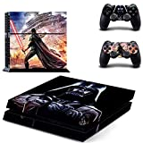 Homie Store PS4 Pro Skin - Ps4 Skins - Ps4 Slim Sticker - Star Wars PS4 Skin Sticker for Sony Playstation 4 PS4 Console Protection Film and Cover Decals of 2 Controller