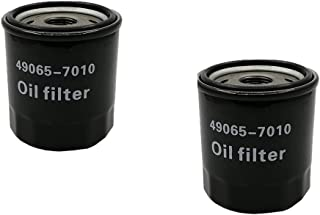 GAQ 49065-7010 Oil Filter Replacement Kawasaki Fit for 49065-2078(2 Pack)