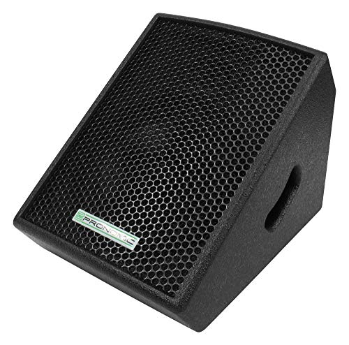 Pronomic Minimon 8' (20CM) DJ PA Aktiv-Monitor Lautsprecher Box (60W RMS / 100W Peak, 2-Band...
