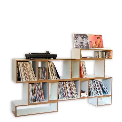 REGALEO - SET 3 +++ flexibel gestaltbares Designer-Regalsystem aus Berlin +++ elegant minimalistisches Design +++ hochwertige weisse Oberfläche +++ MADE IN BERLIN