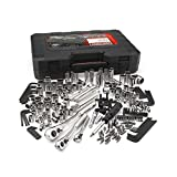 Craftsman 230 Piece 230 PC SAE Metric Mechanics Tool Set ratchet wrench socket, carry case included