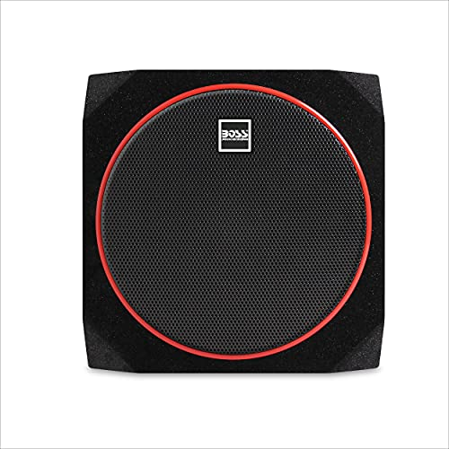 BOSS Audio Systems CUBE10 Car Subwoofer and Amp Package – Built-in...