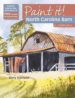 Paint It!: North Carolina Barn in Watercolour
