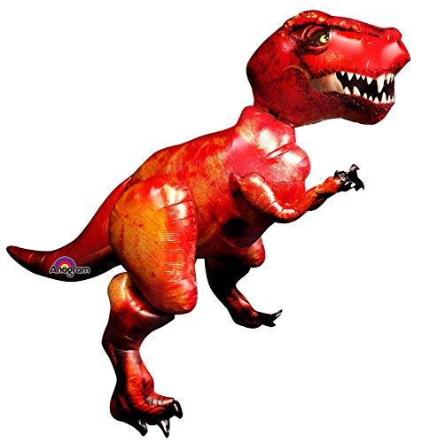 Amscan- Globo Dinosaurio Grande (Anagram 110242-01)