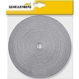 Schellenberg 31205 Cinghia per avvolgibile Larghezza 23 mm Lunghezza 12 m Grigio