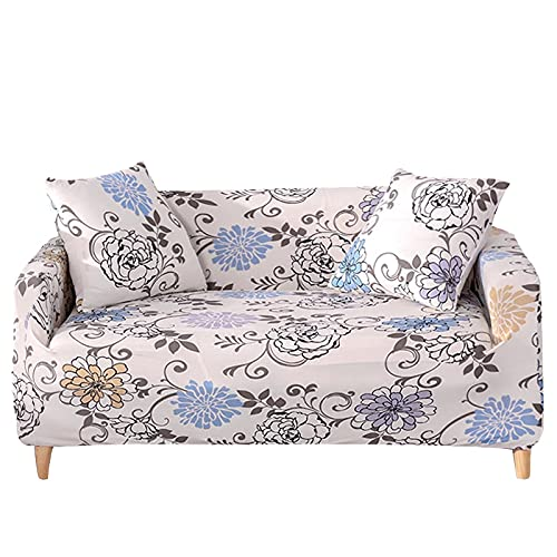 ASCV En Forma de L Necesita Pedir 2 Piezas Funda de sofá Fundas para sofá Toalla Funda de sillón para sofá de Esquina Proteger Muebles A5 4 plazas