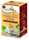 Nature's Guru Instant Masala Spice Chai Tea Drink Mix Unsweetened 10 Count Single Serve On-the-Go Drink Packets, 5.64 Ounce (Pack of 1) (MCU_FBA)