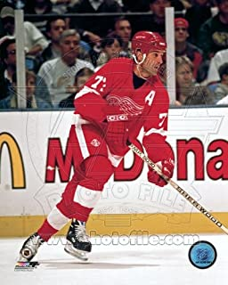 Paul Coffey Detroit Red Wings NHL Action Photo #3 8x10