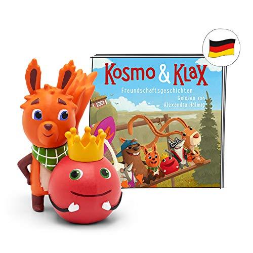 tonies Hörfiguren für Toniebox - Kosmo und Klax - Freundschaftsgeschichten - ca. 77 Min. - Ab 4 Jahre -DEUTSCH
