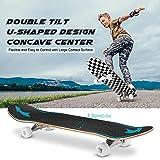 Zoom IMG-2 dazspirit skateboard 31x8 pollici double