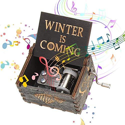 Slolvedi Wooden Music Box Birthday Gifts